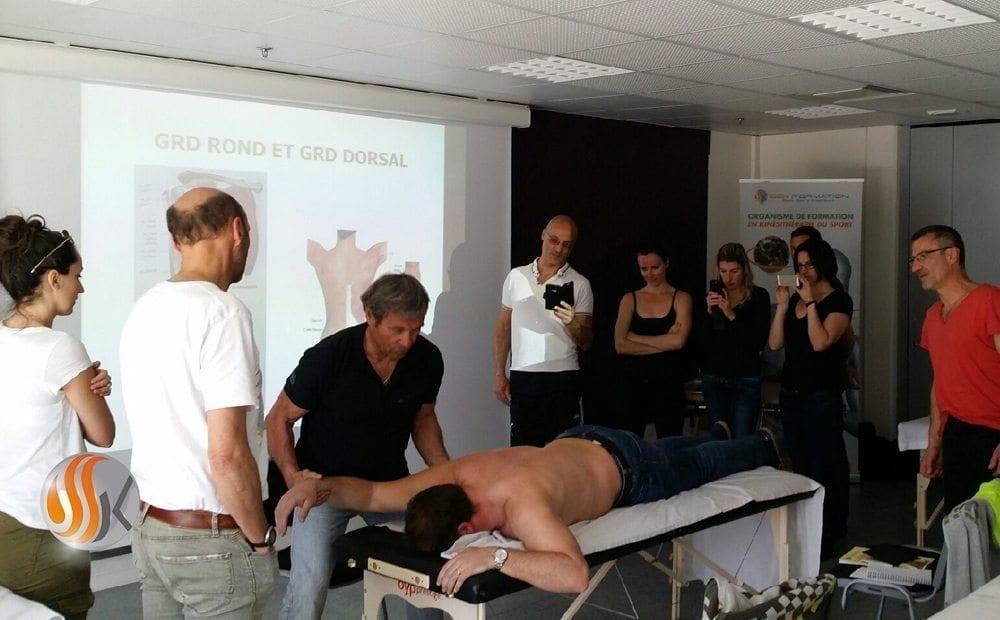 Le Reboutement Musculaire chez SSK Formation