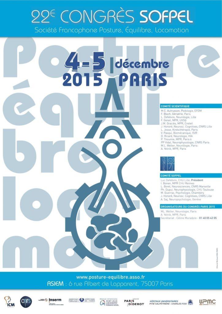 affiche Congrès SOFPEL Paris 2015 - copie